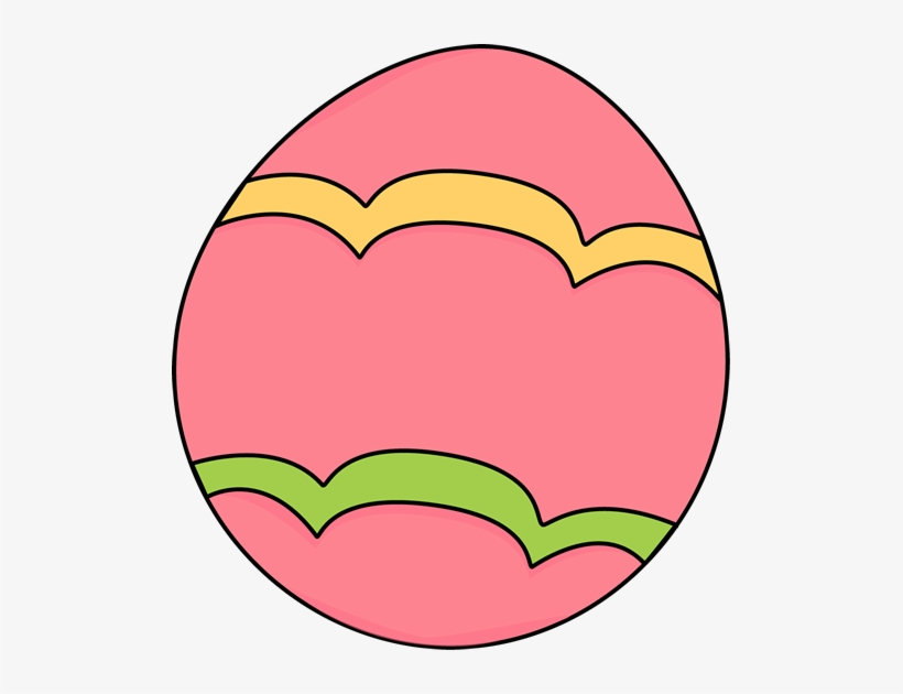 Pretty Clipart Easter Egg.