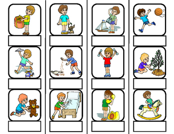 Action Words Worksheets & Teaching Resources.