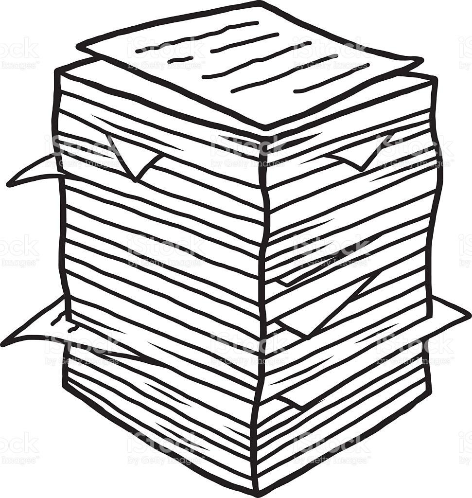 Pile of documents clipart 7 » Clipart Portal.