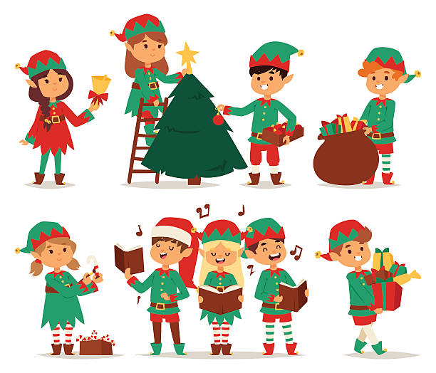Santa's Elves Clipart (94+ images in Collection) Page 2.