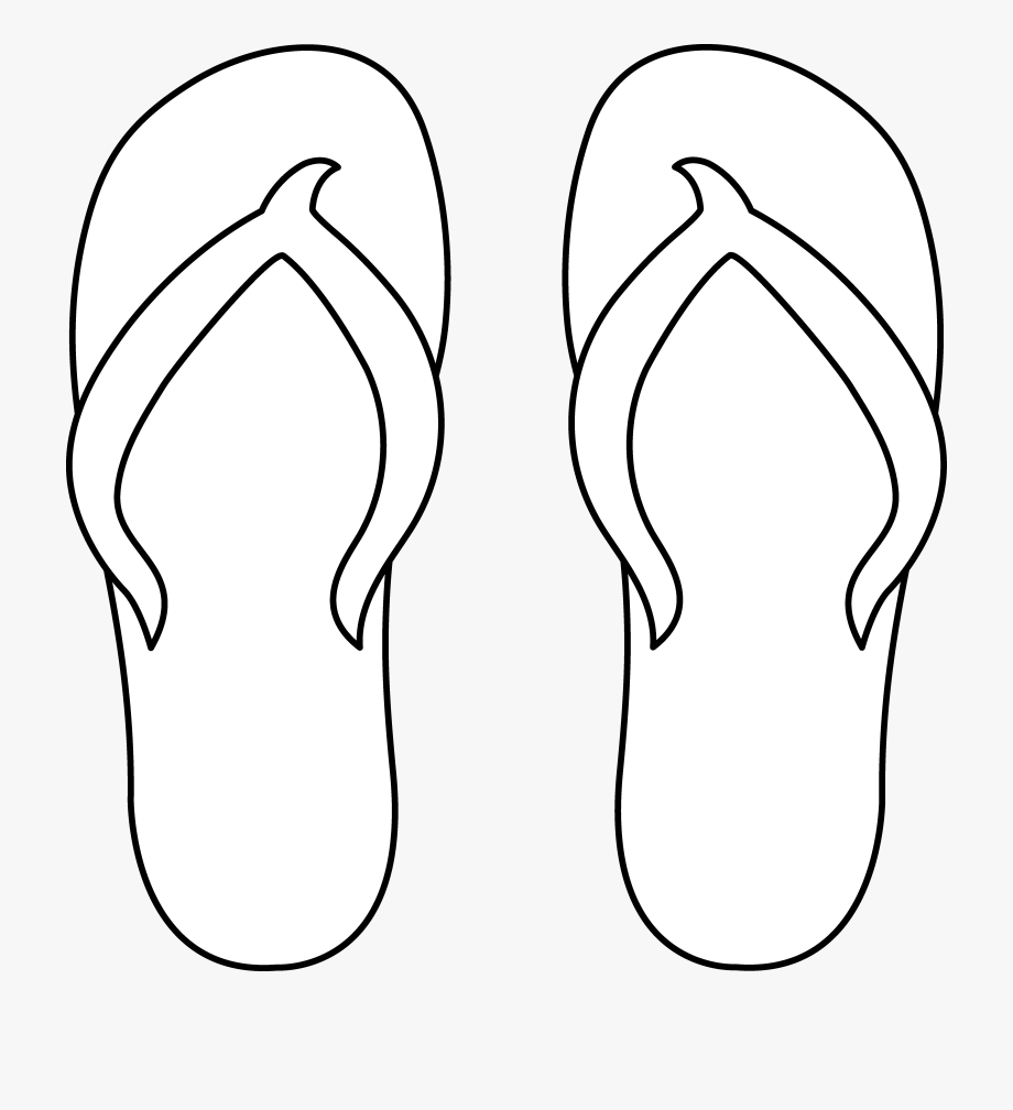 Shoe Clipart Thong.