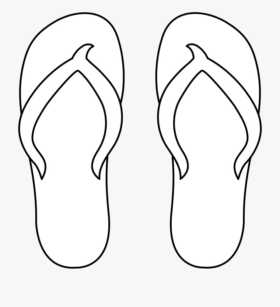 Shoe Clipart Thong.