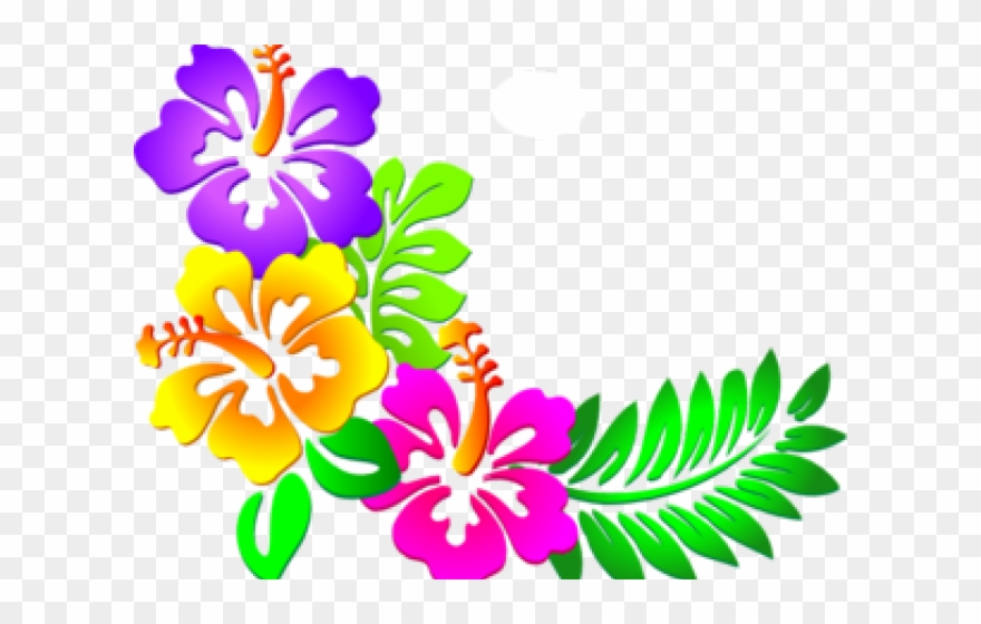 Hibiscus Clipart Design.