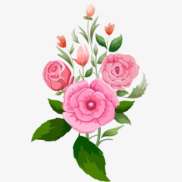 Hand Painted Floral Designs, Flowers, Hand Painted Flowers, Floral.