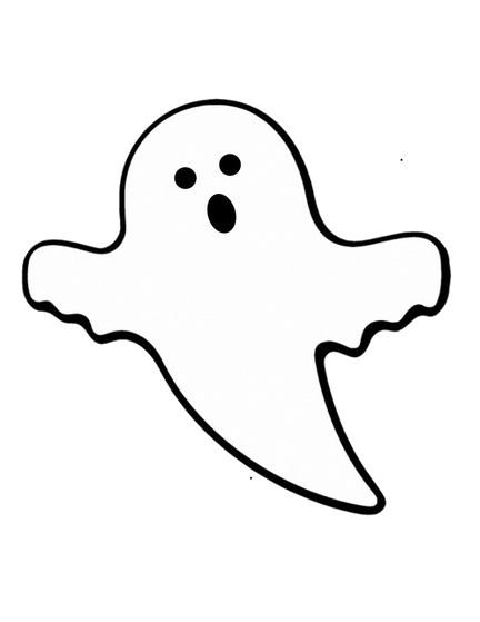 Ghost Friendly Clipart Transparent Png.