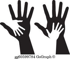 Helping Hand Clip Art.