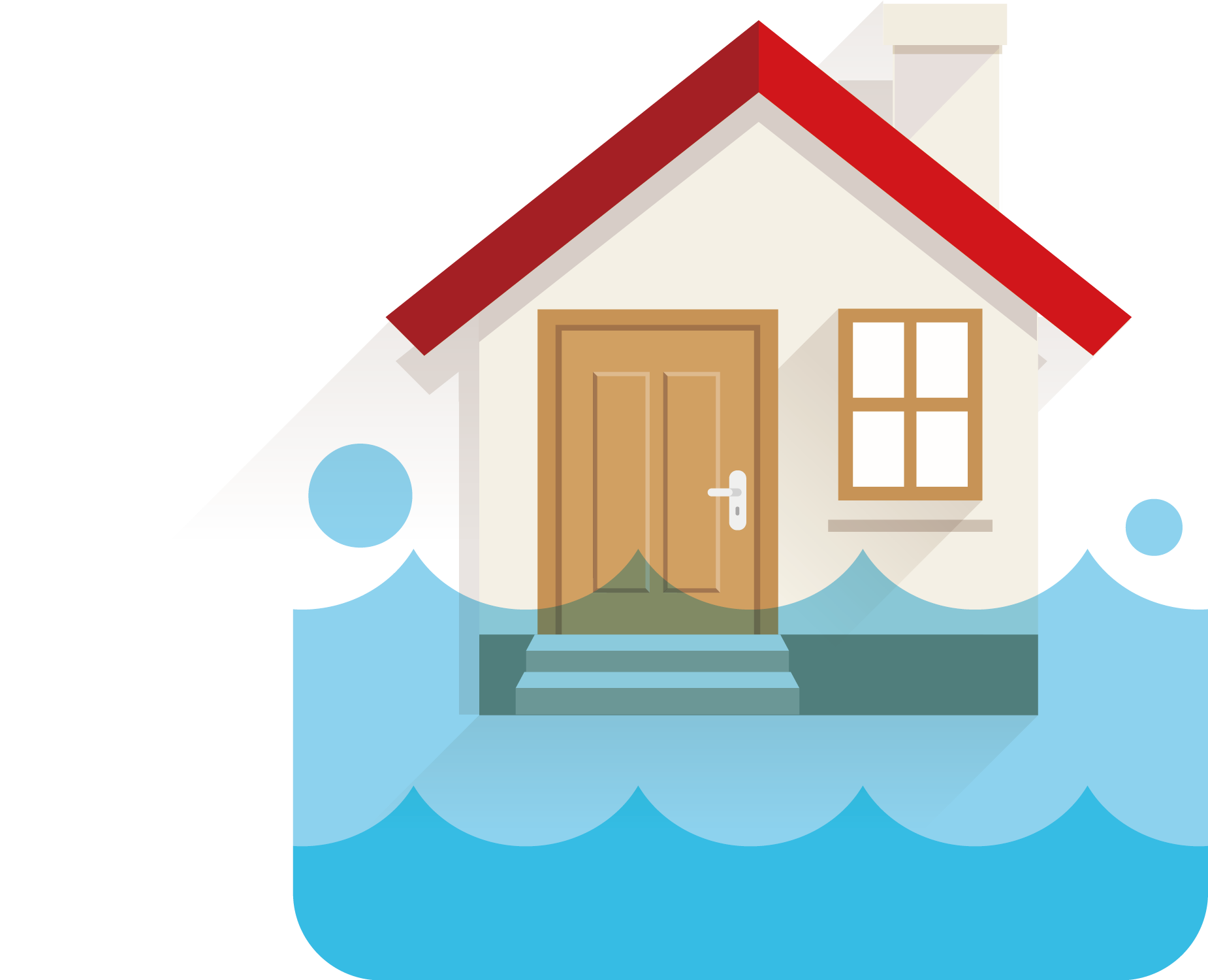 Houses clipart flooding, Houses flooding Transparent FREE.