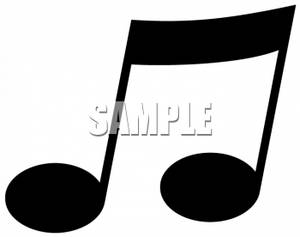Music Notes Symbols Clip Art.