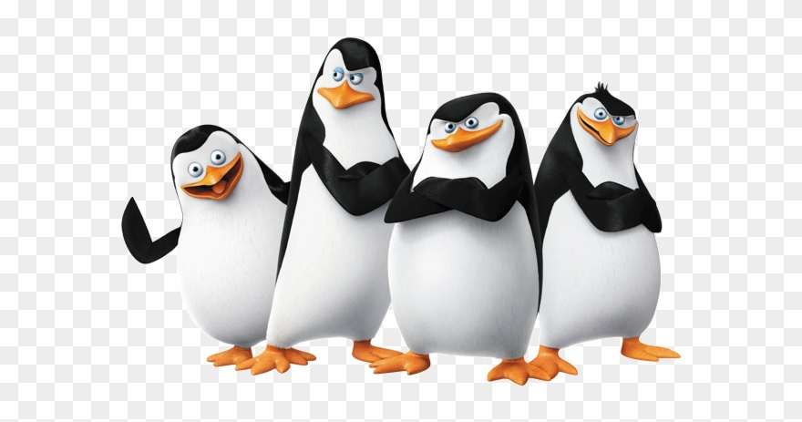 King Penguin Clipart Madagascar Name.