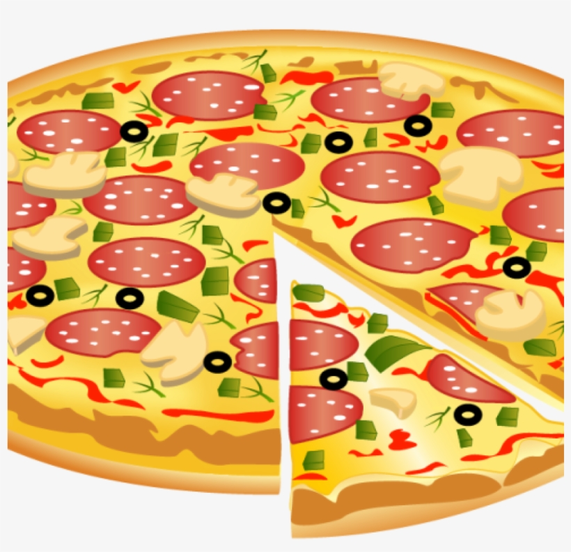 Cheese Pizza Clipart Crown Clipart Hatenylo.