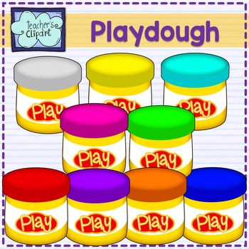 Playdough Clipart Worksheets & Teaching Resources.