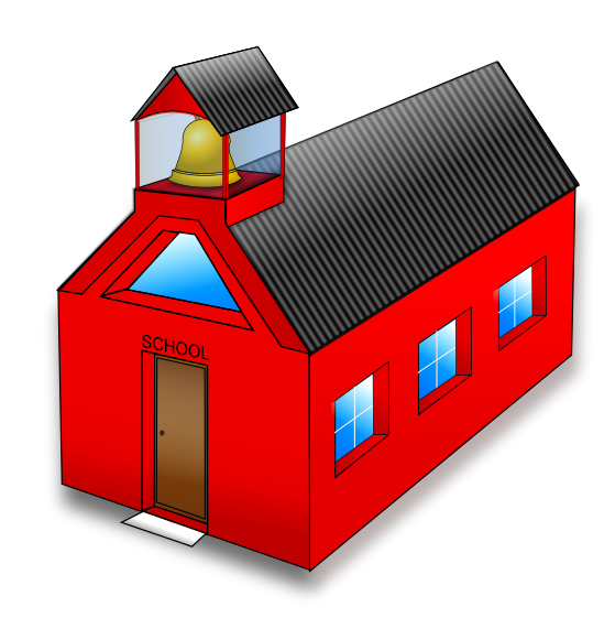 Free to Use & Public Domain School Building Clip Art.