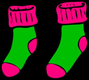 Showing post & media for Cartoon socks clip art.