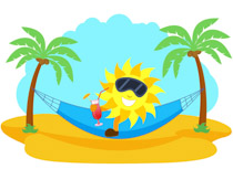 Free Summer Clipart.
