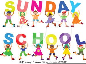 Childrens Sunday School Clipart.