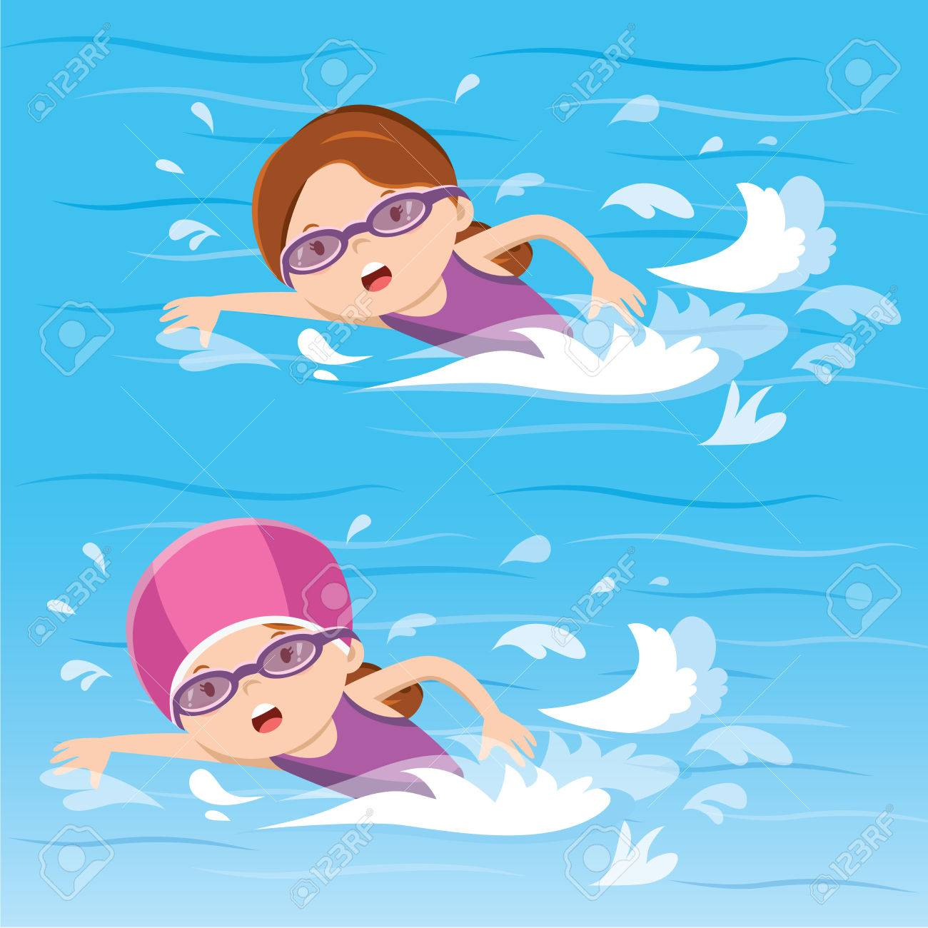 Swimming Clipart Images.