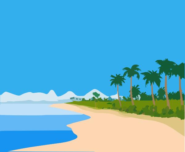 Beach Clipart Free.
