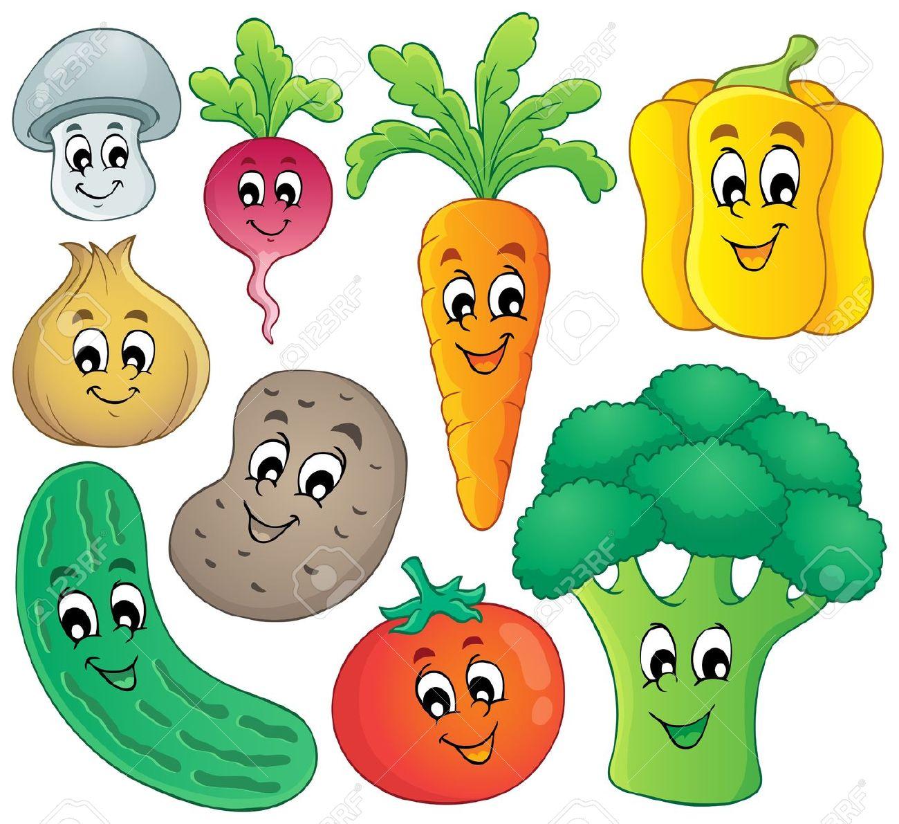 Clipart vegetables 7 » Clipart Station.
