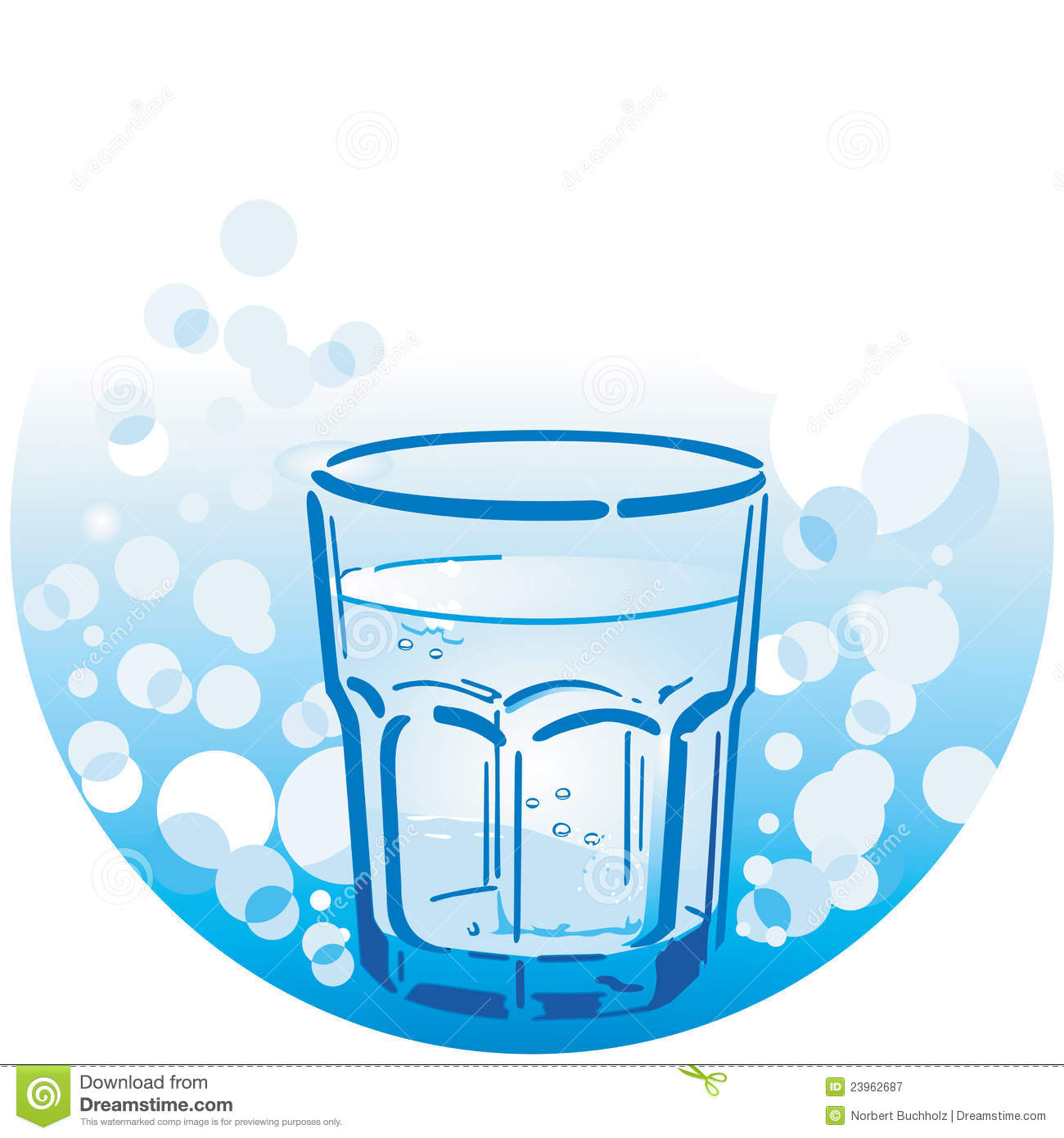 Drinking Water Clipart Free.