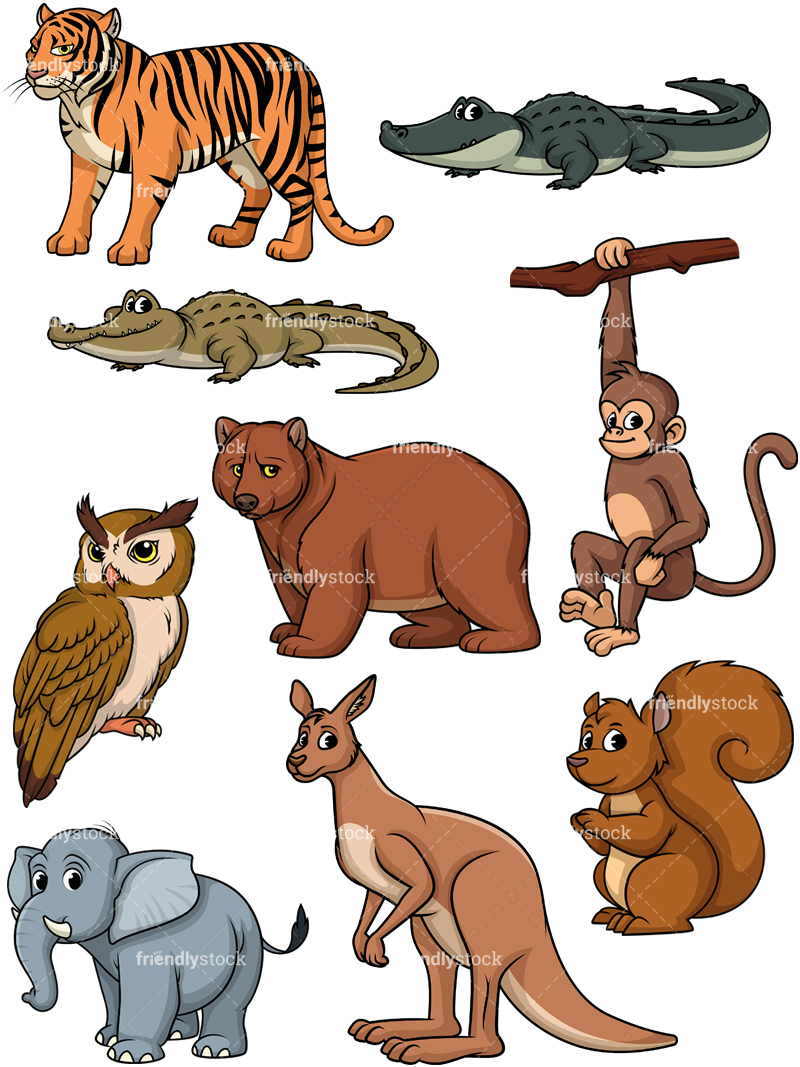 Wild Animals Collection #2.