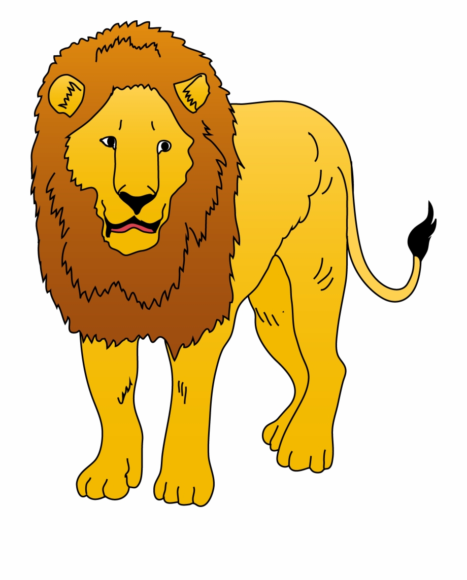 Wild Animal Lions Clipart.