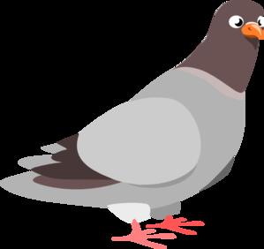 Pigeon Clip Art at Clker.com.