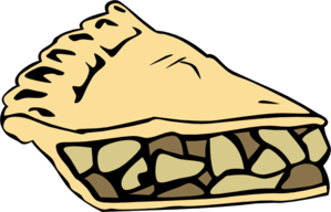 Slice Of Apple Pie Clipart.