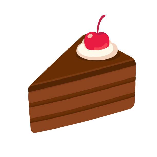 Best Slice Of Cake Illustrations, Royalty.