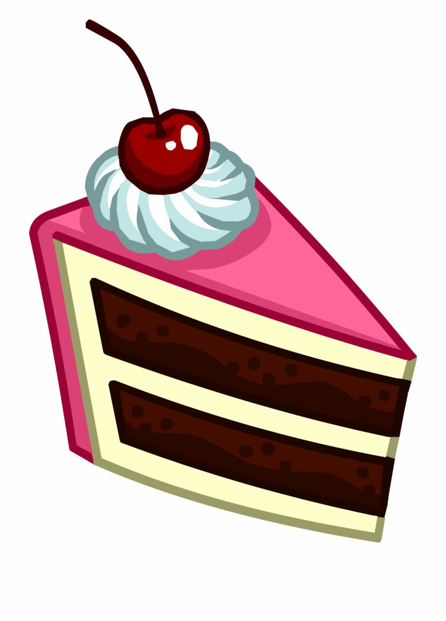 Slice Of Cake Icon Club Penguin Pin Png.