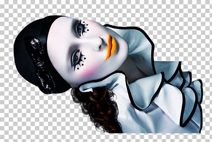 Pierrot Columbina Harlequin Joker Clown, joker PNG clipart.