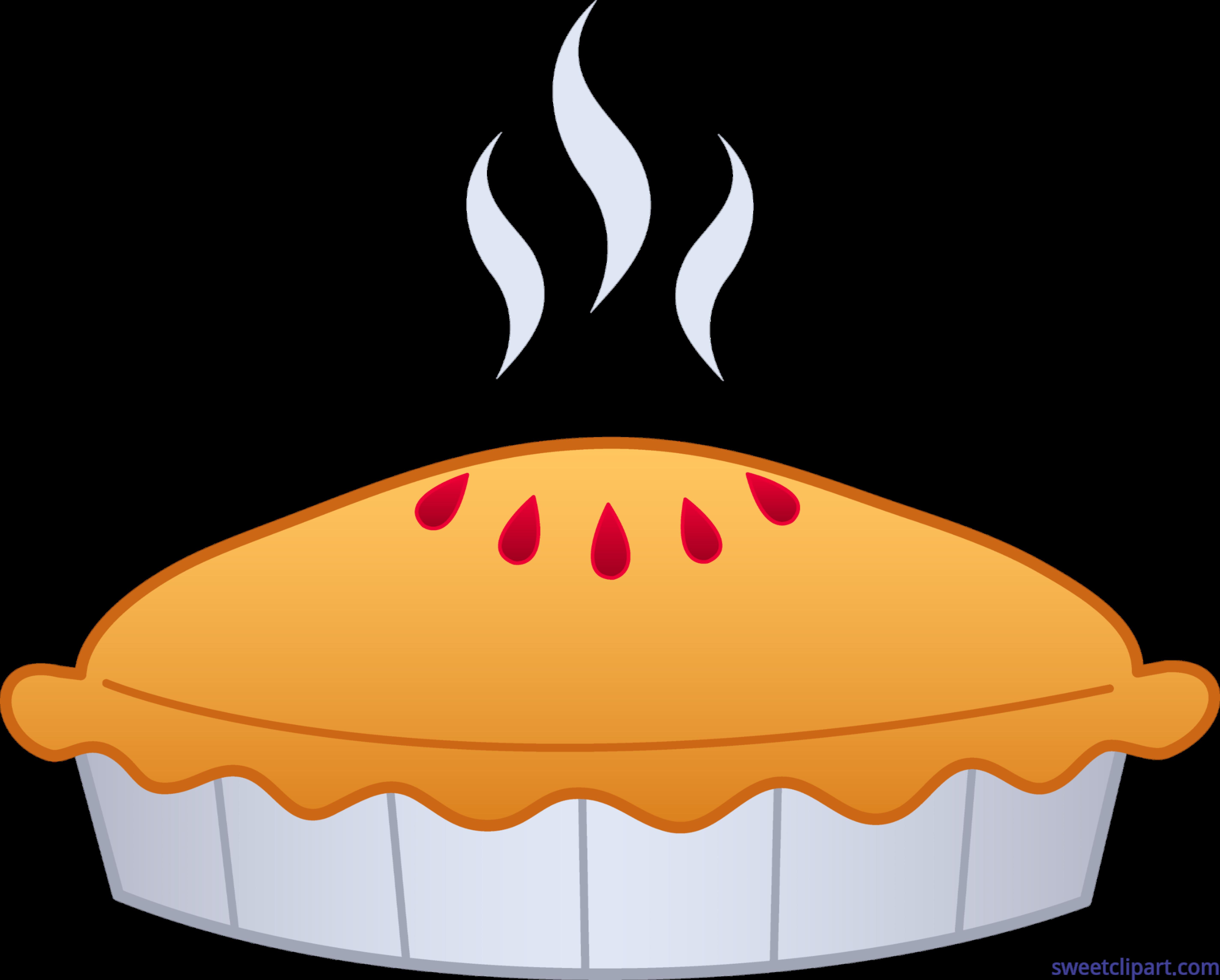 Pie Clip Art.