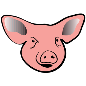 pig head clipart, cliparts of pig head free download (wmf, eps, emf.
