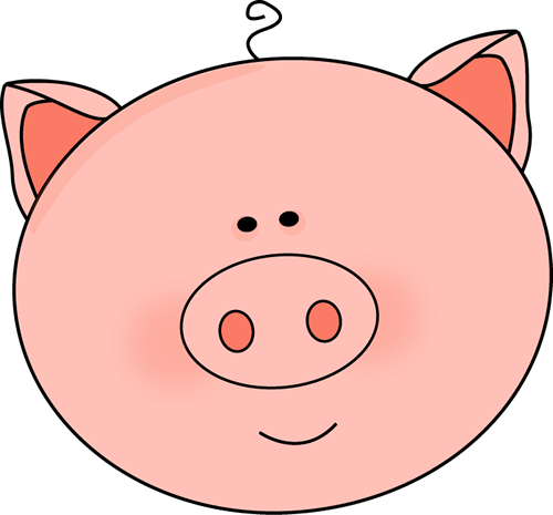 Download Free png Pig Head Clipart.