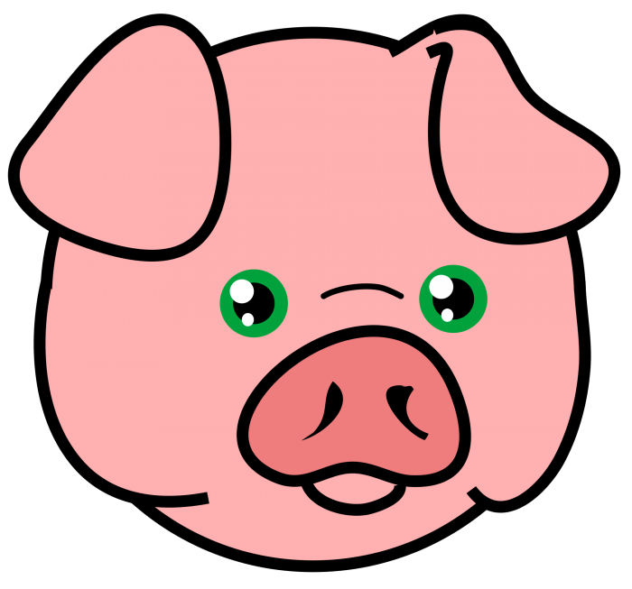 Pig Head Png Vector, Clipart, PSD.