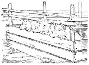 clipart pig pen - Clipground