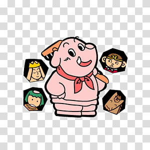 Pigsy PNG clipart images free download.