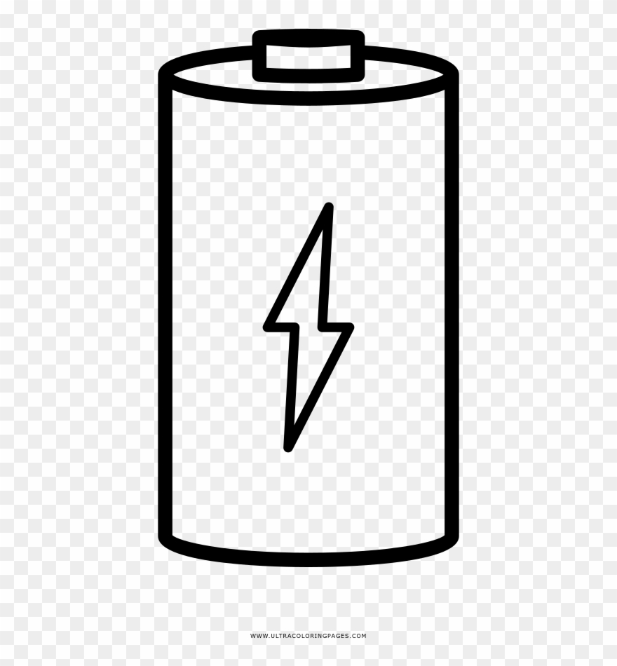 Battery Coloring Page Download.
