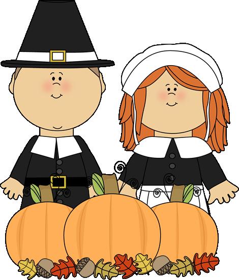 Pilgrims and harvest..