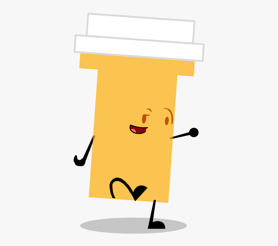 Pill Bottle Bfdi , Png Download , Free Transparent Clipart.