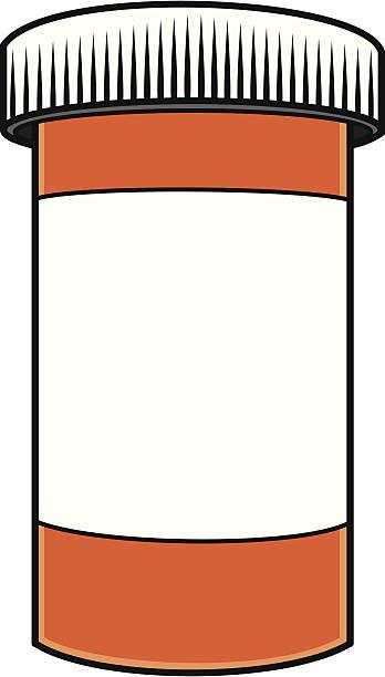 Medication Bottle Clipart.