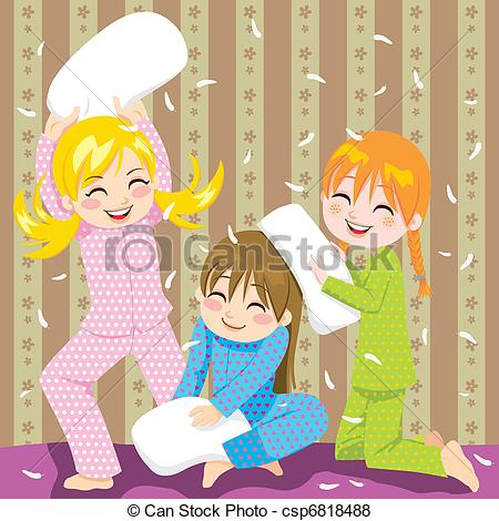 Showing post & media for Girls pillow fight cartoon.
