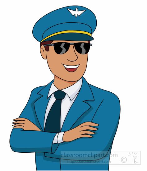 1166 Pilot free clipart.