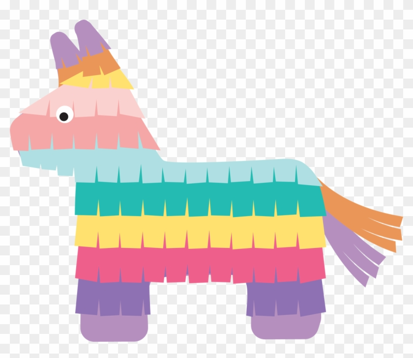 Pinata Clipart Silhouette, HD Png Download (#5505639).