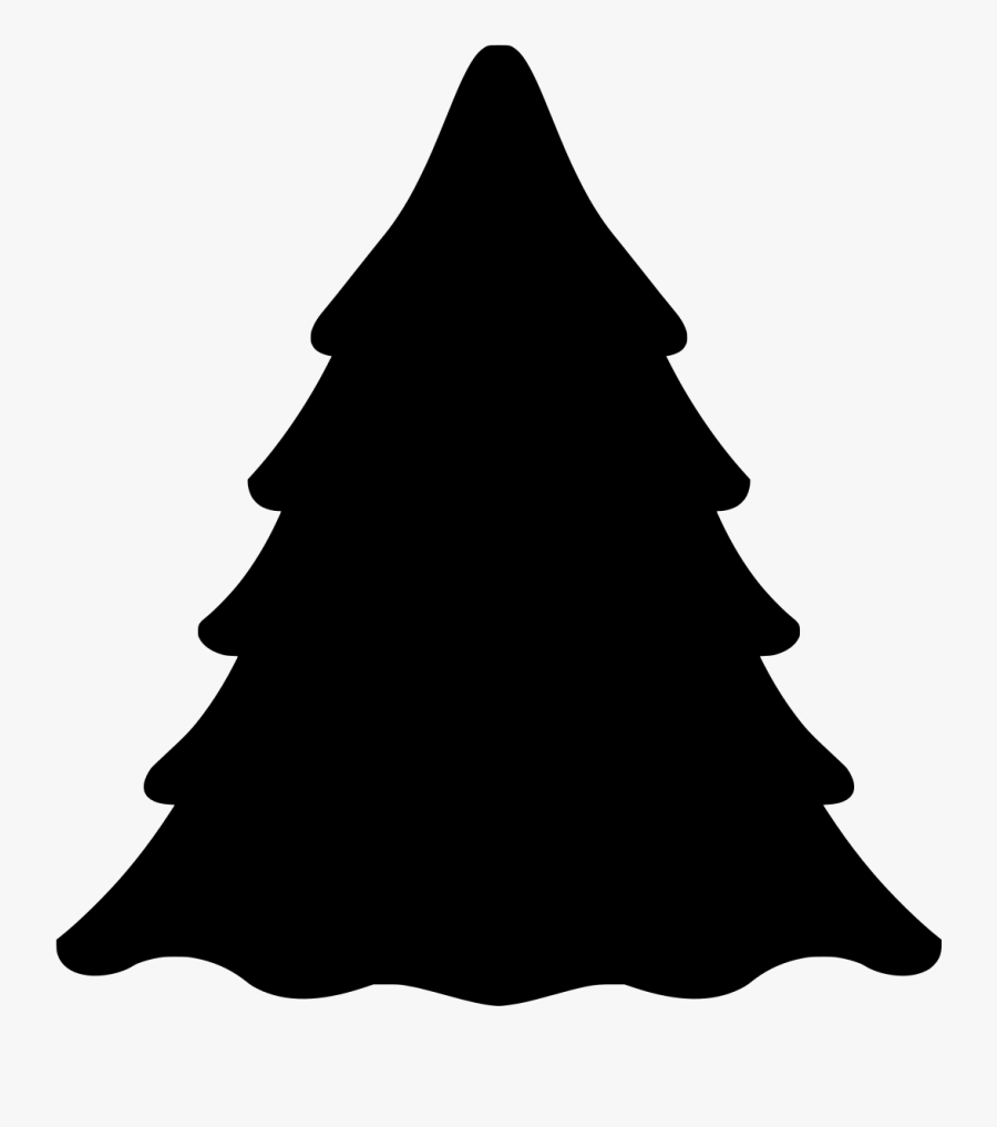 Shaow Clipart Pine Tree.