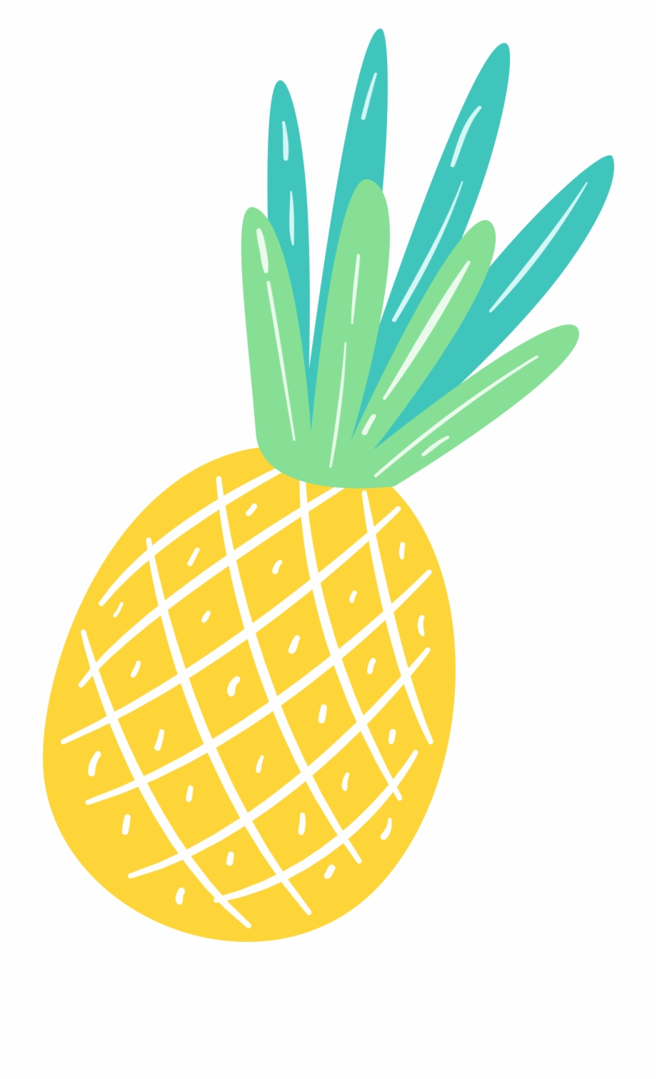 Summer Clipart Pineapple Free PNG Images & Clipart Download #3525509.