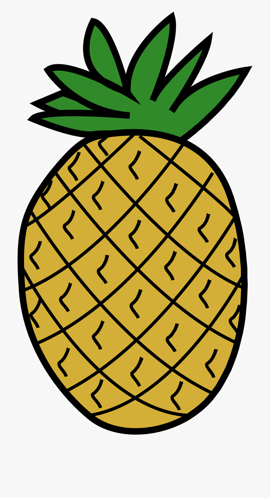 Clipart Pineapple.