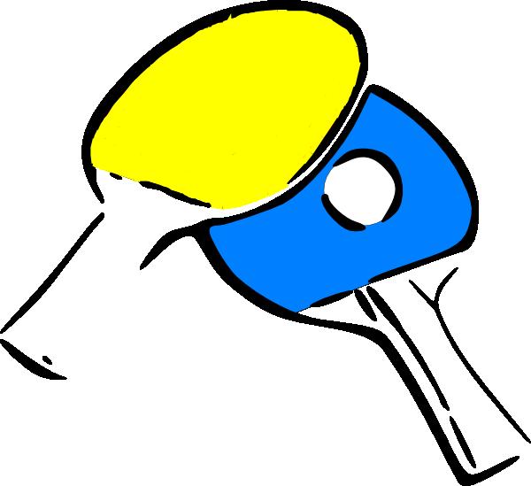 Ping Pong Clip Art.