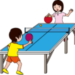 Free Ping Pong Clipart Image.