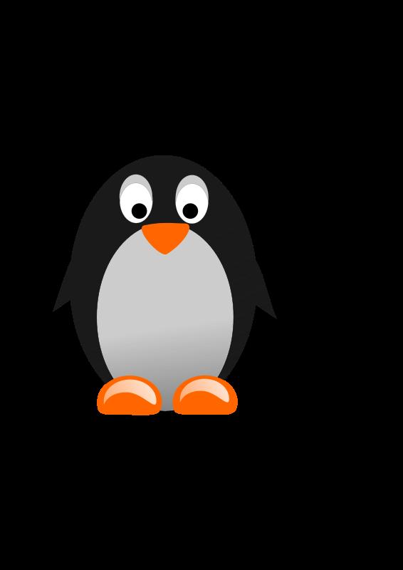 Free Clipart: Pinguino / Penguin.