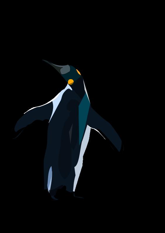 Free Clipart: Pinguino.